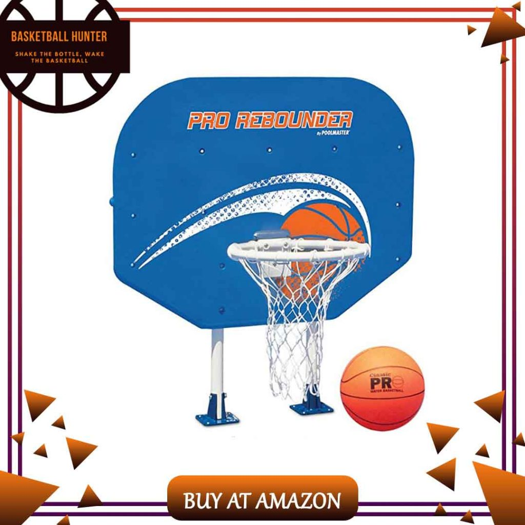 Poolmaster Swimming Pool Basketball and Volleyball Game Combo